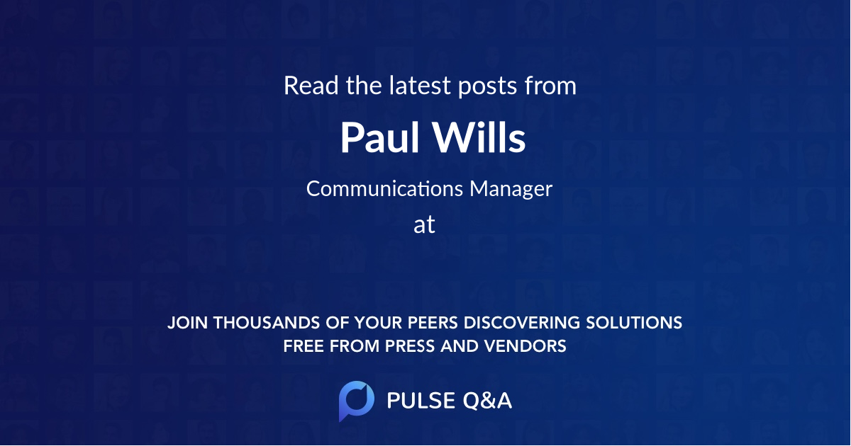 Paul Wills