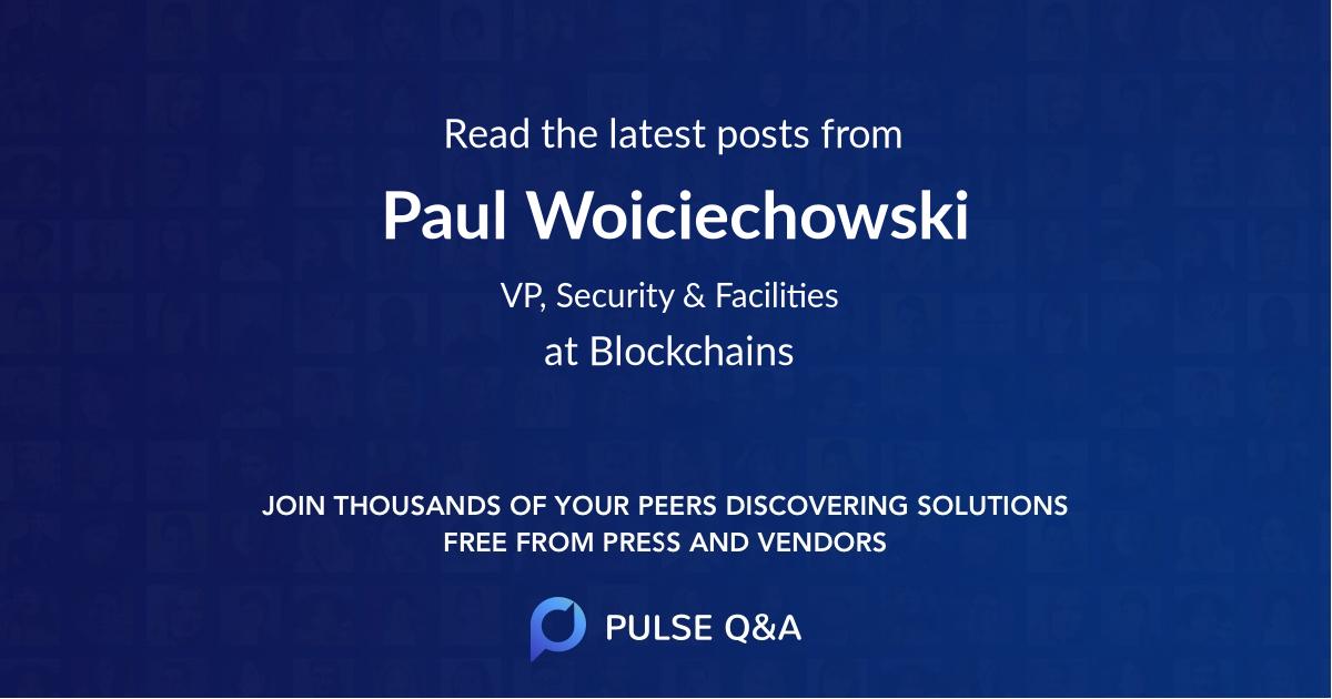 Paul Woiciechowski