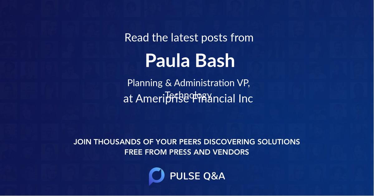Paula Bash
