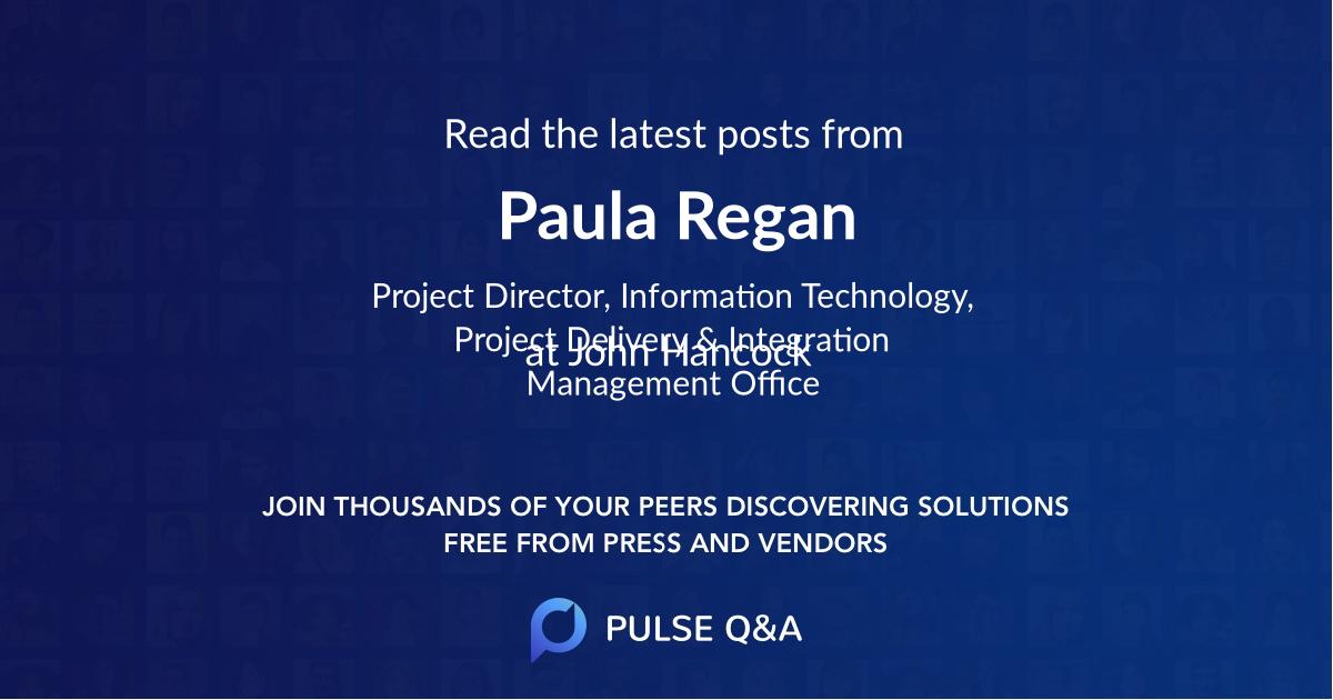 Paula Regan