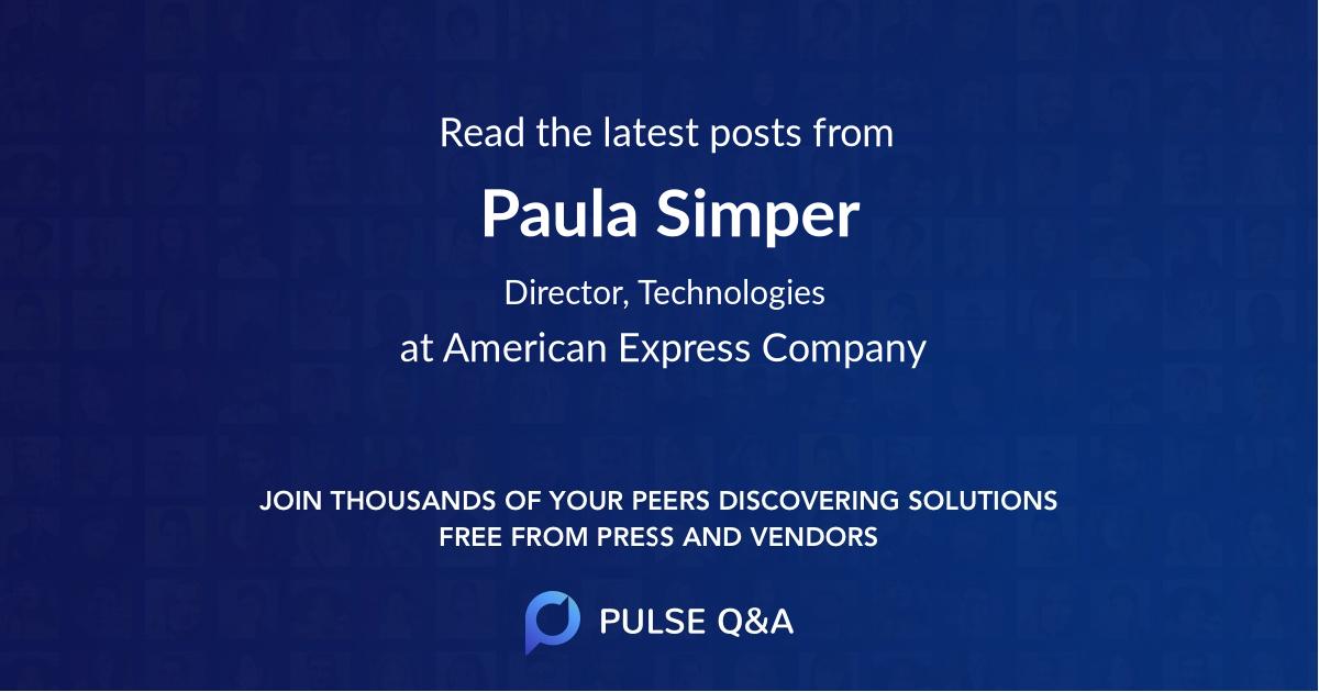 Paula Simper