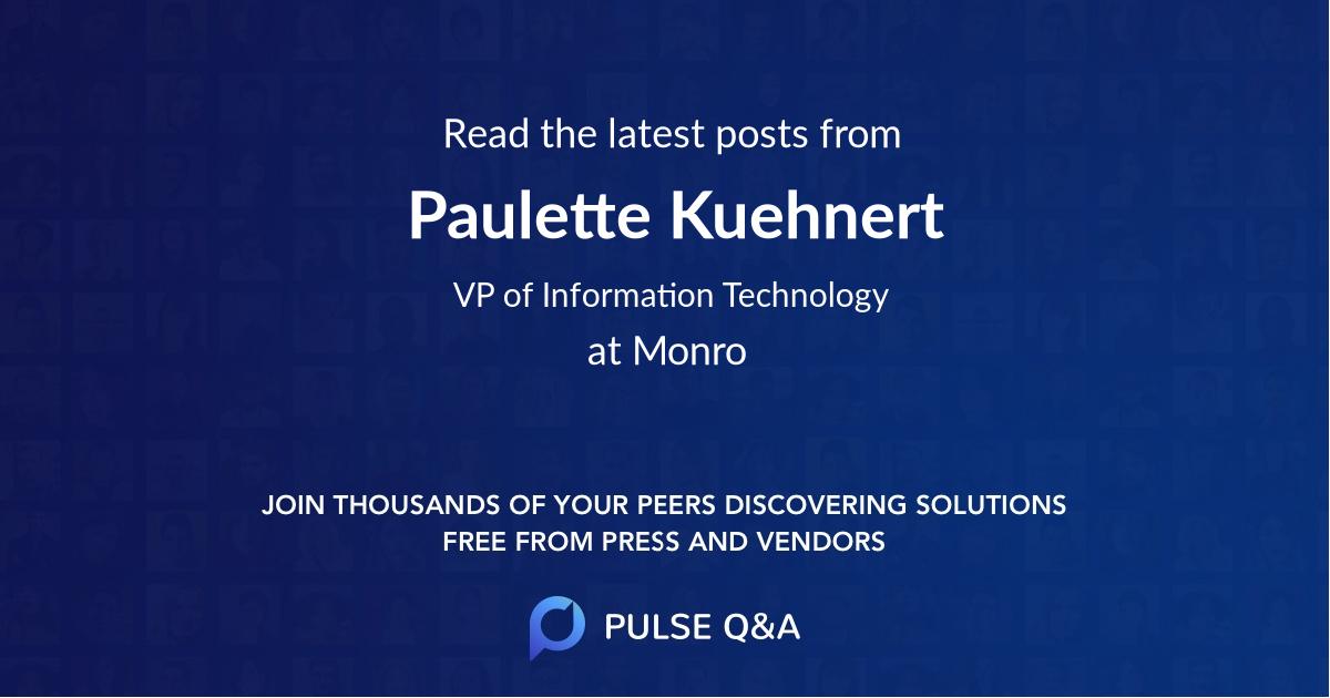 Paulette Kuehnert