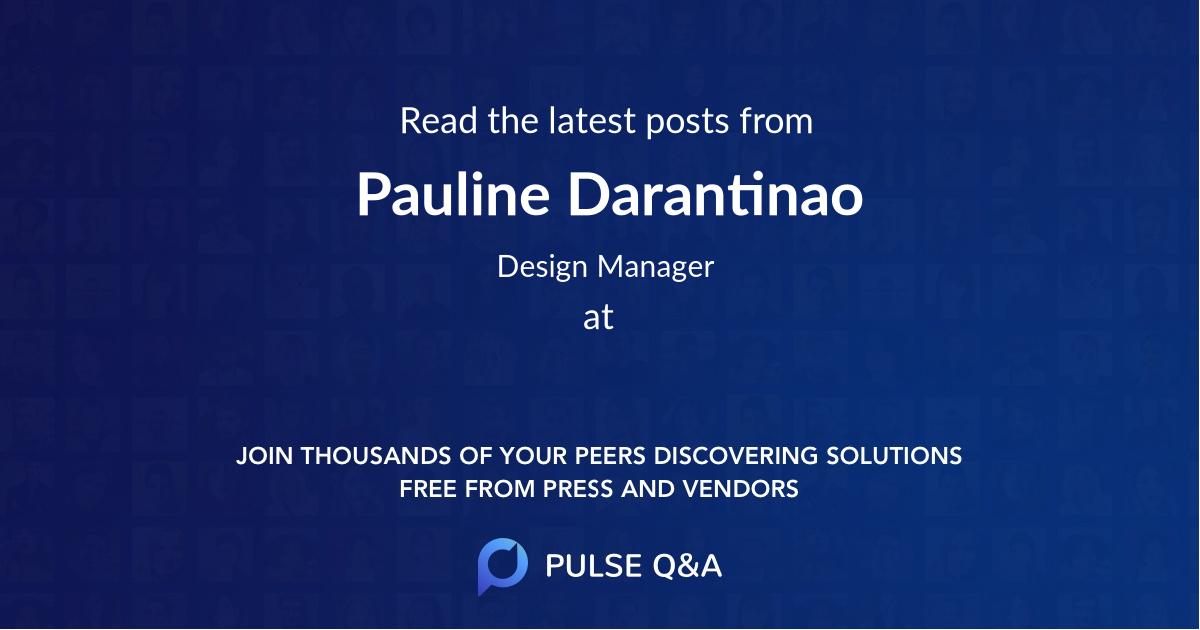 Pauline Darantinao