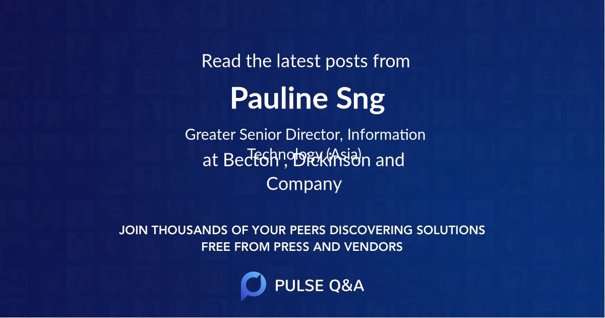 Pauline Sng