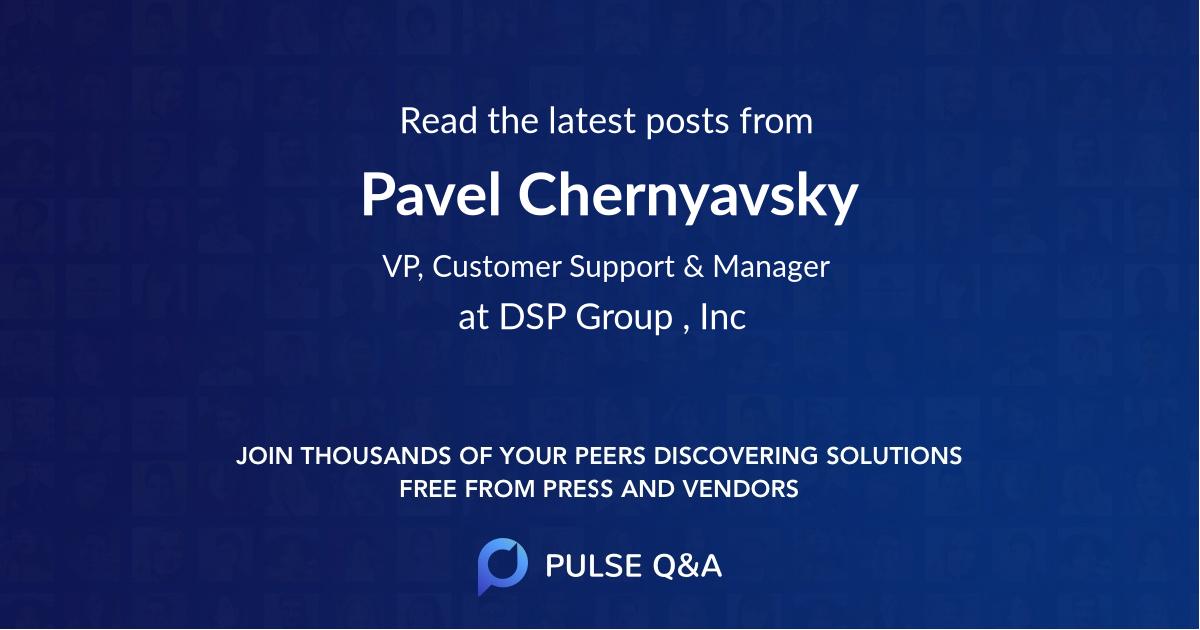 Pavel Chernyavsky