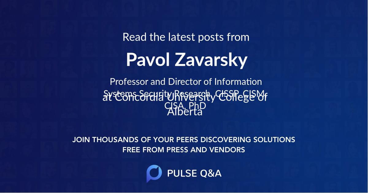 Pavol Zavarsky