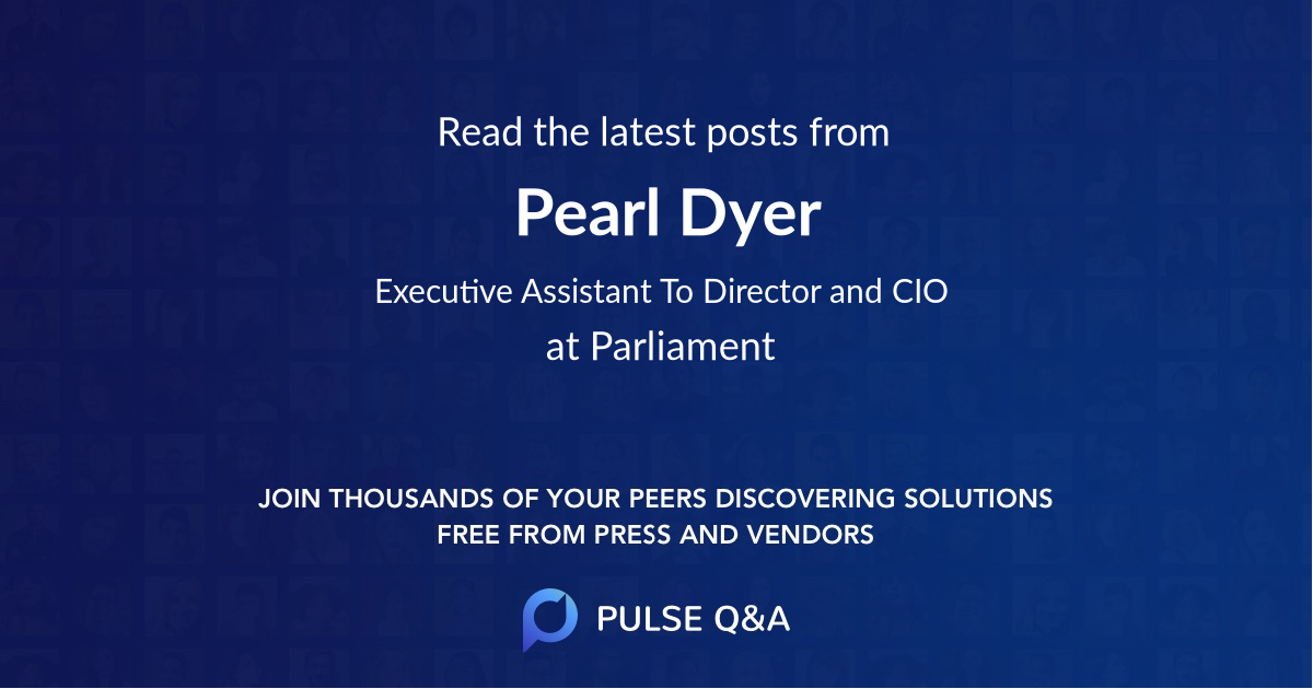 Pearl Dyer