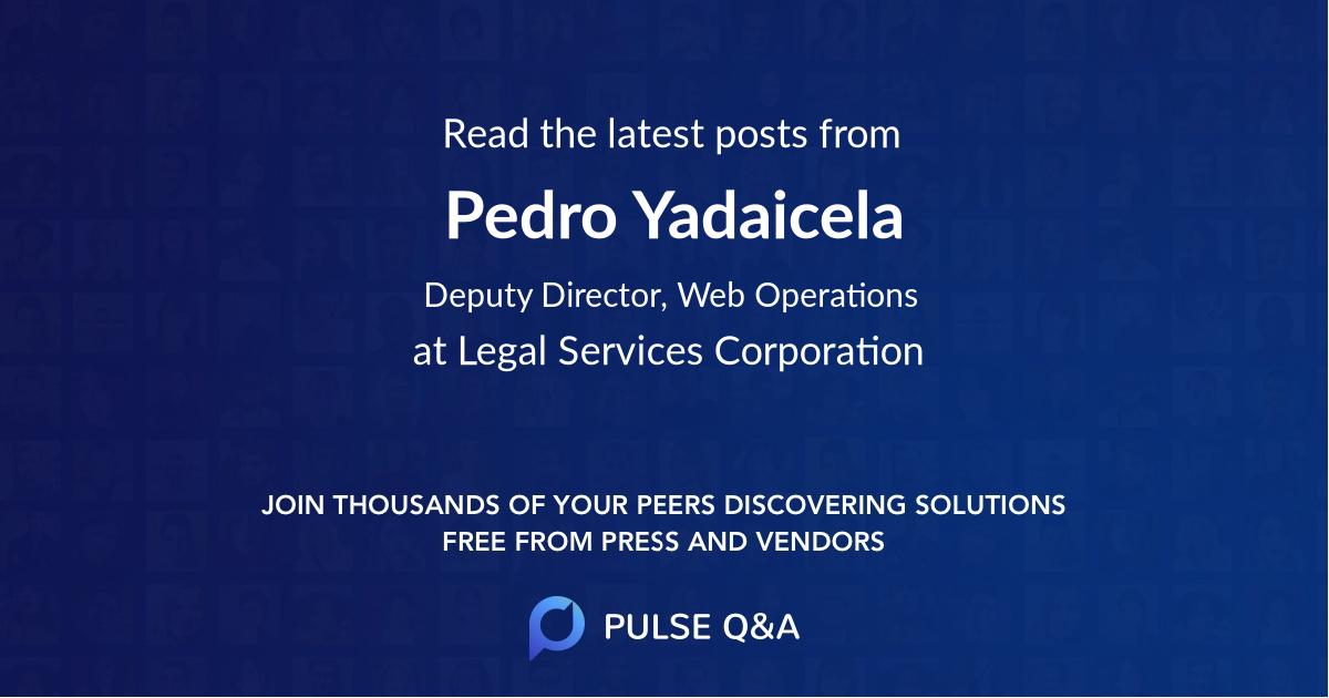 Pedro Yadaicela