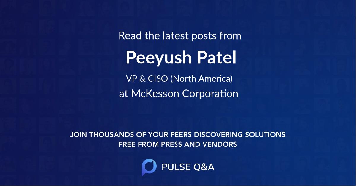 Peeyush Patel