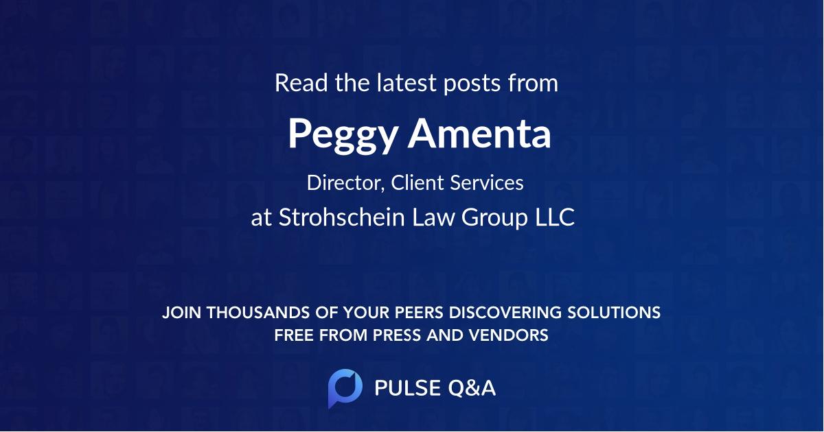 Peggy Amenta