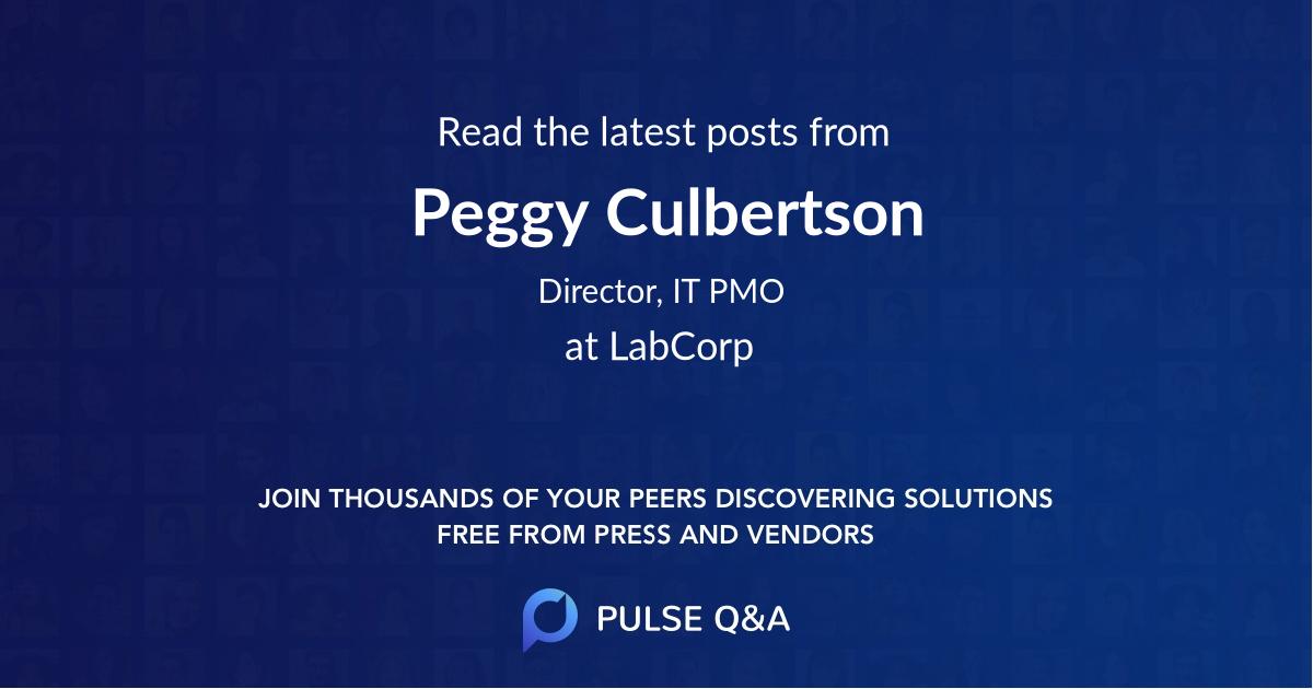 Peggy Culbertson