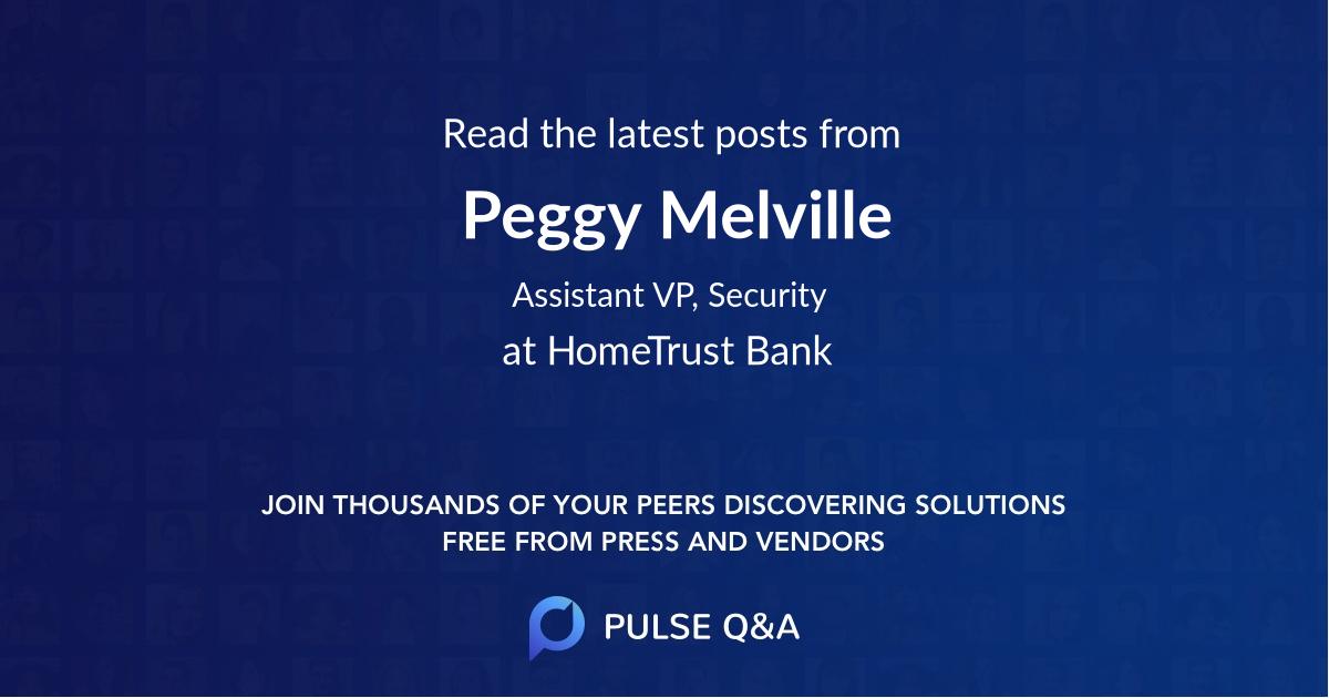 Peggy Melville