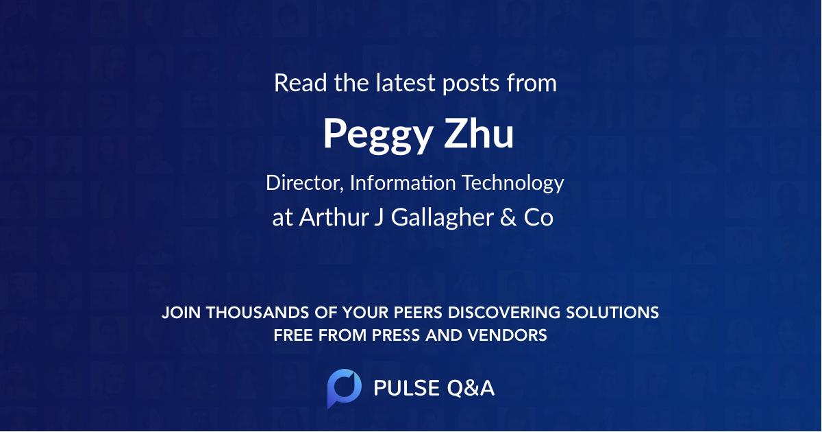 Peggy Zhu