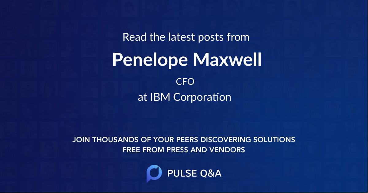Penelope Maxwell