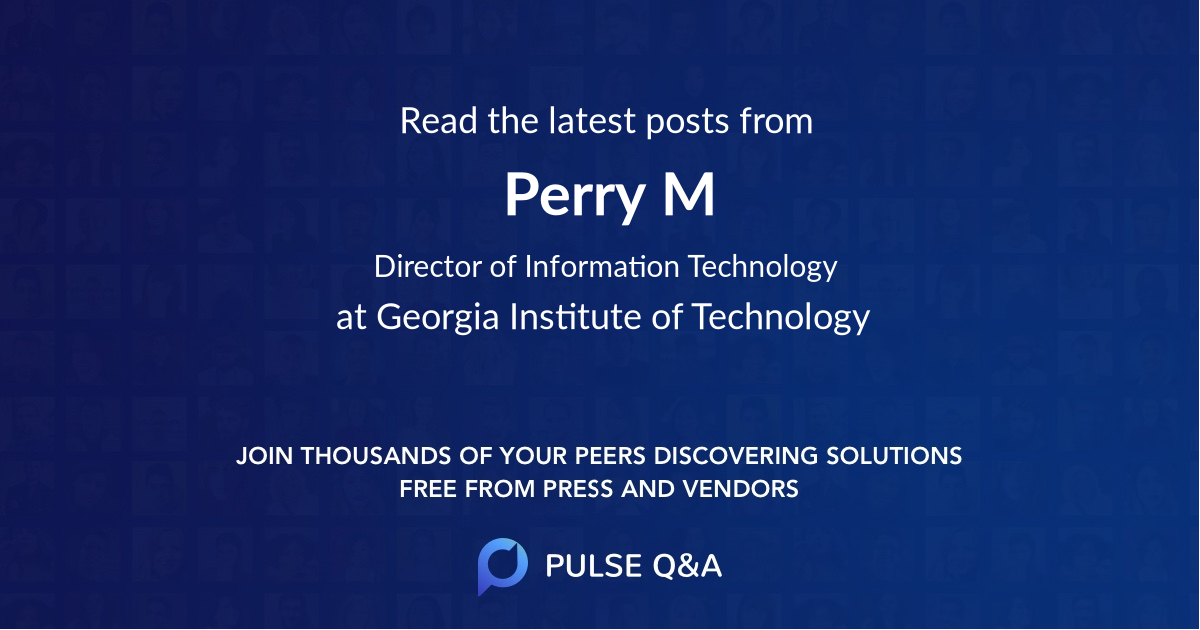 Perry M.