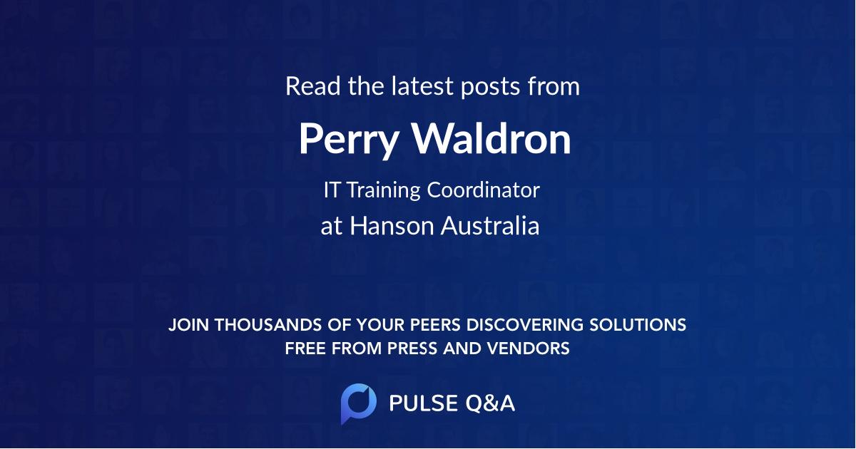 Perry Waldron