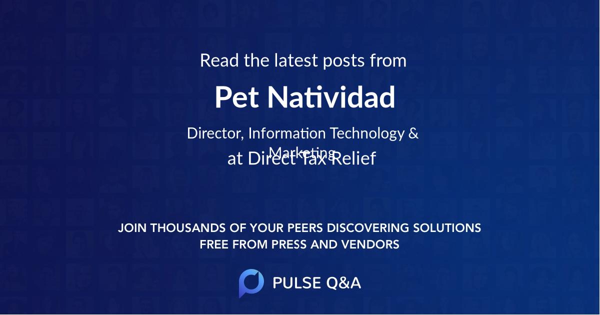 Pet Natividad