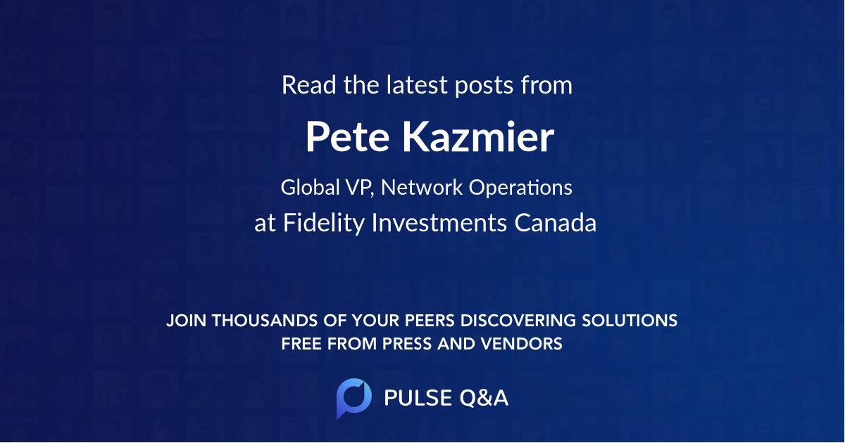 Pete Kazmier
