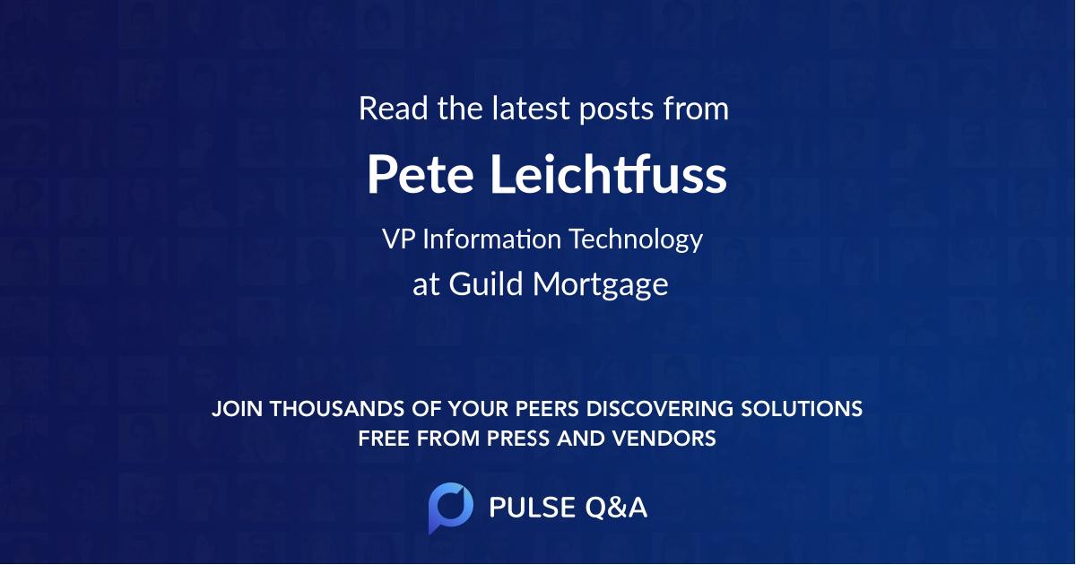 Pete Leichtfuss