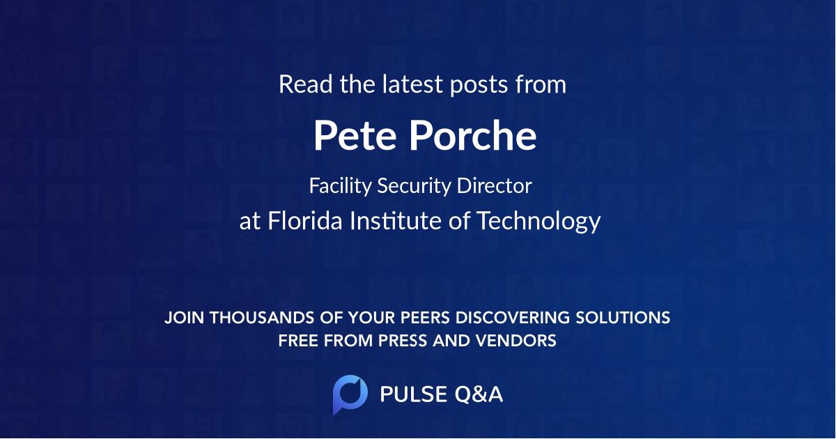 Pete Porche