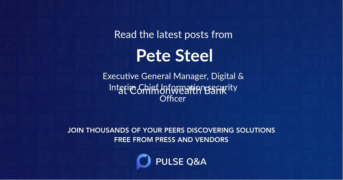 Pete Steel