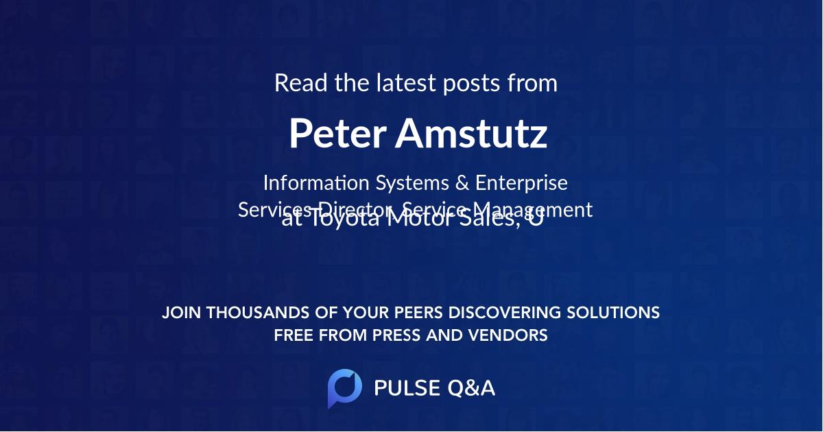 Peter Amstutz