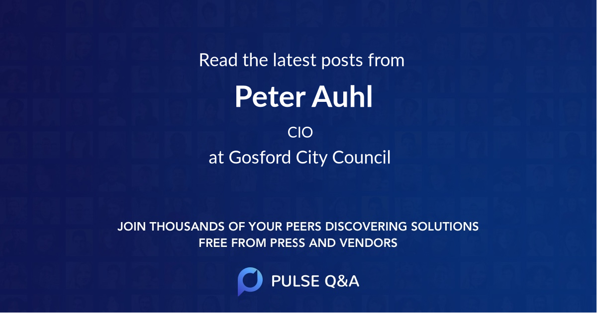 Peter Auhl