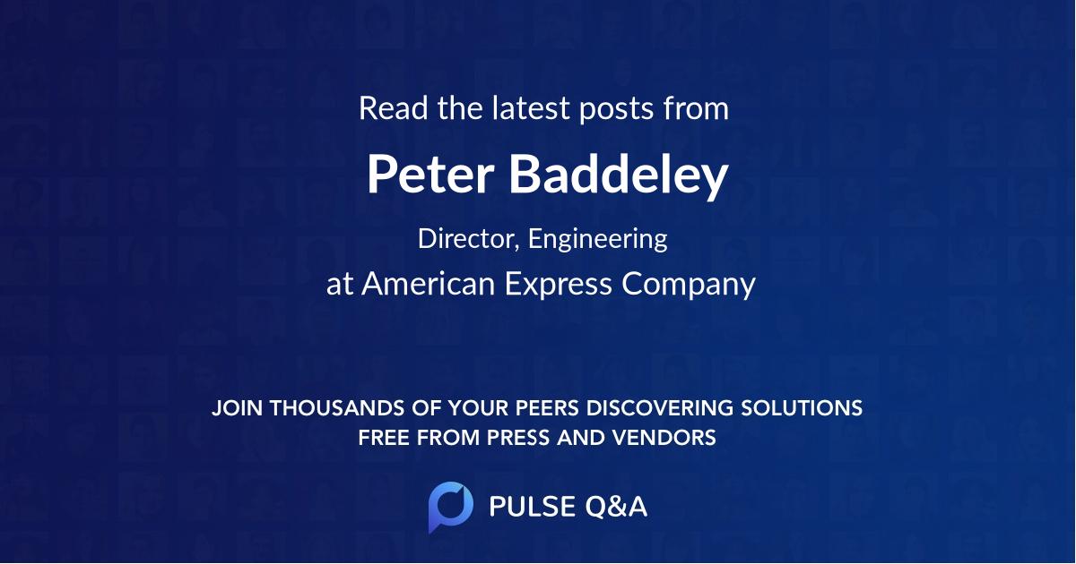 Peter Baddeley