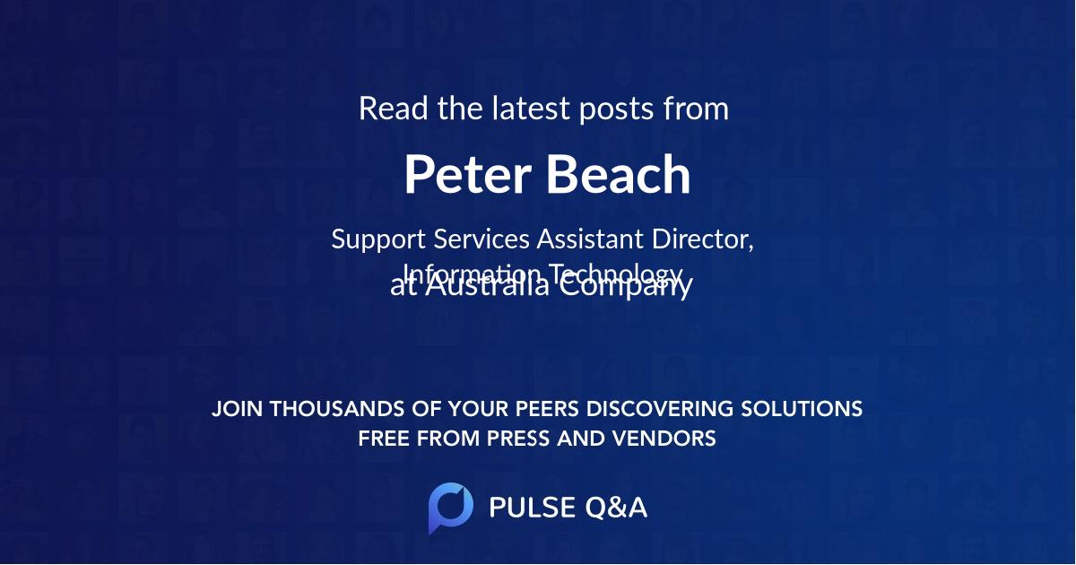 Peter Beach