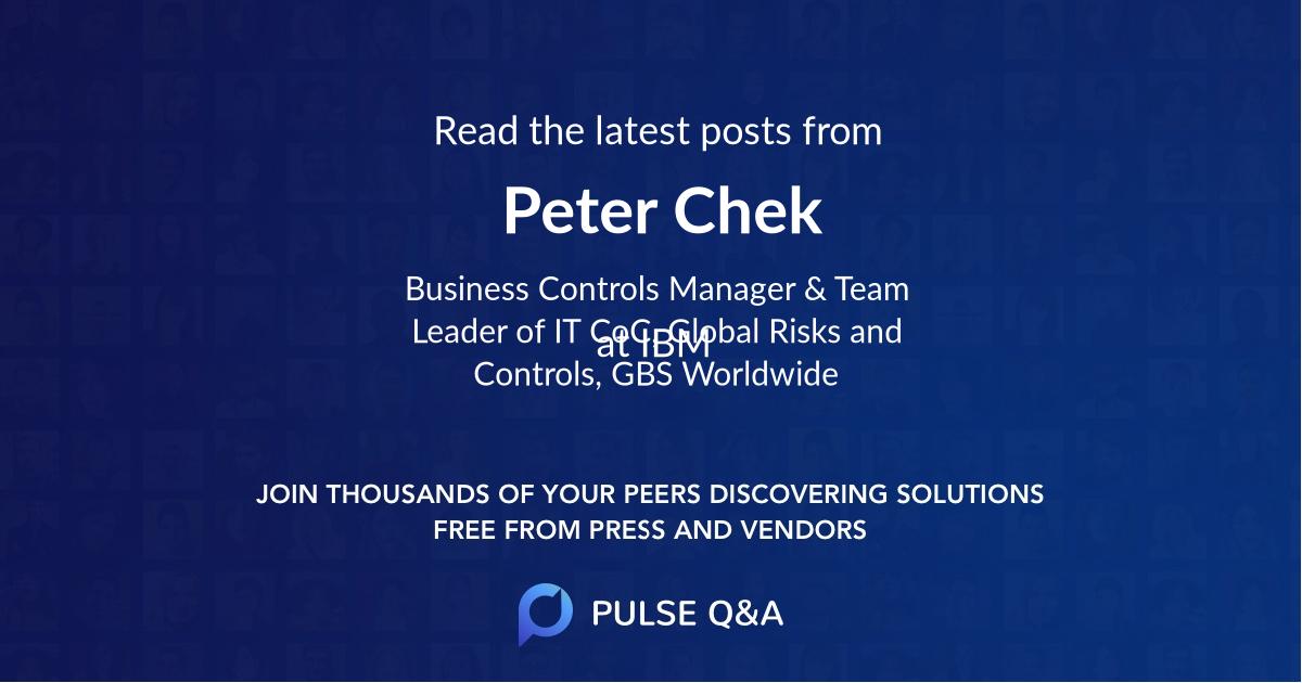 Peter Chek