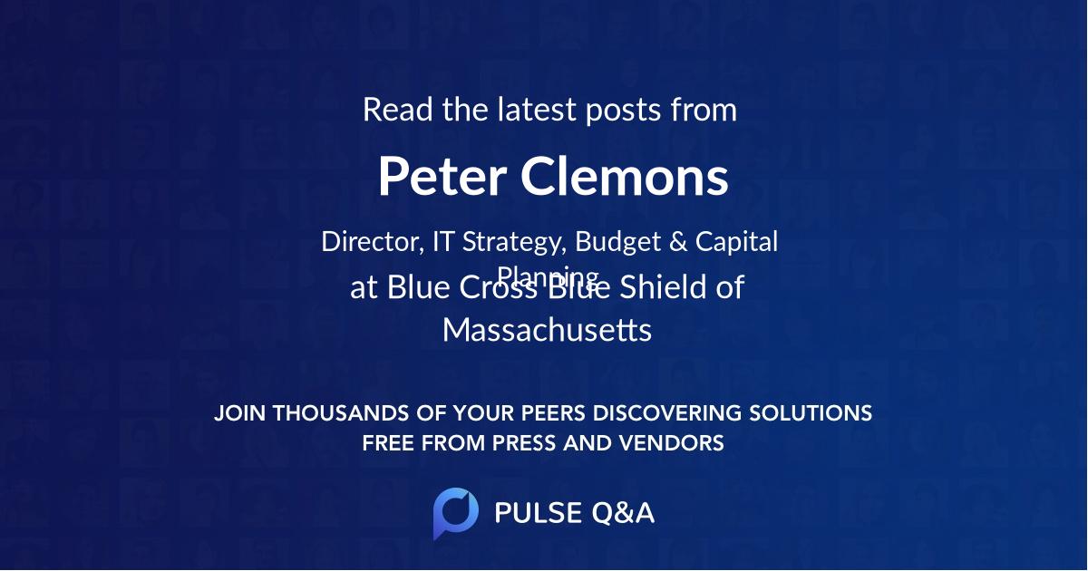 Peter Clemons