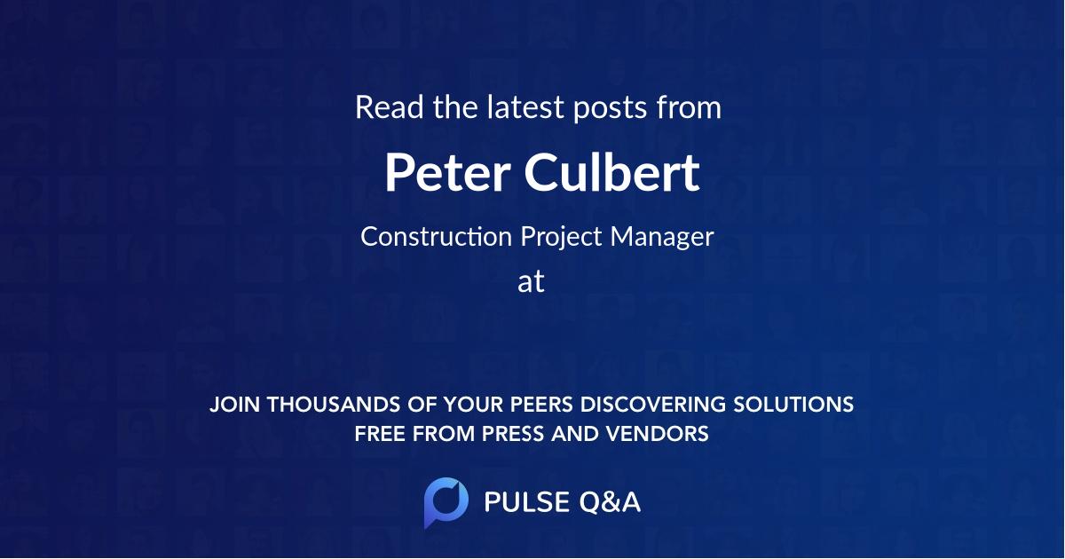 Peter Culbert