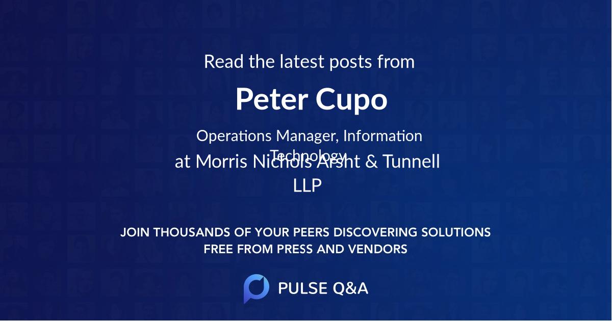 Peter Cupo