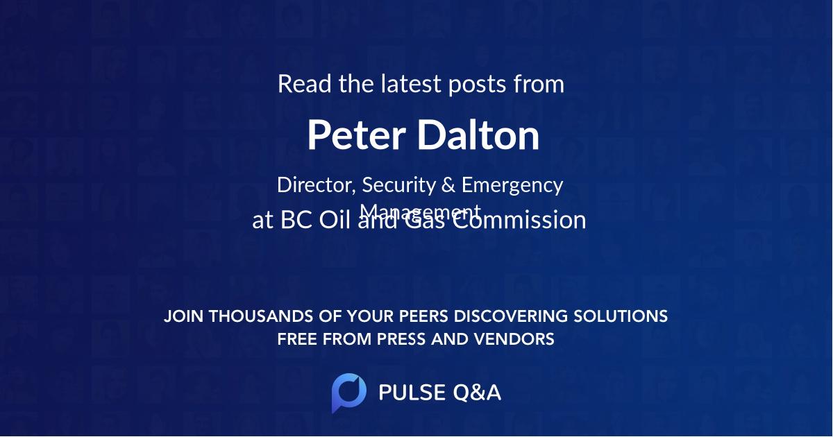 Peter Dalton