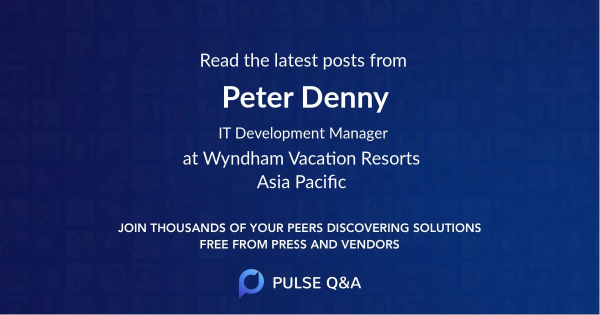 Peter Denny
