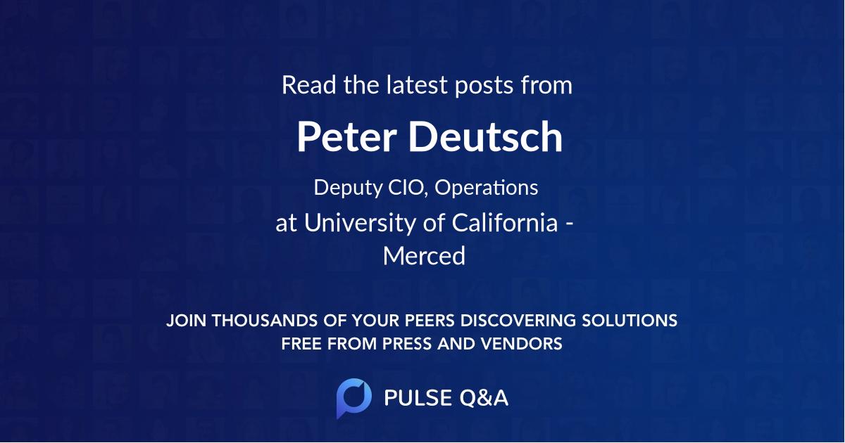 Peter Deutsch