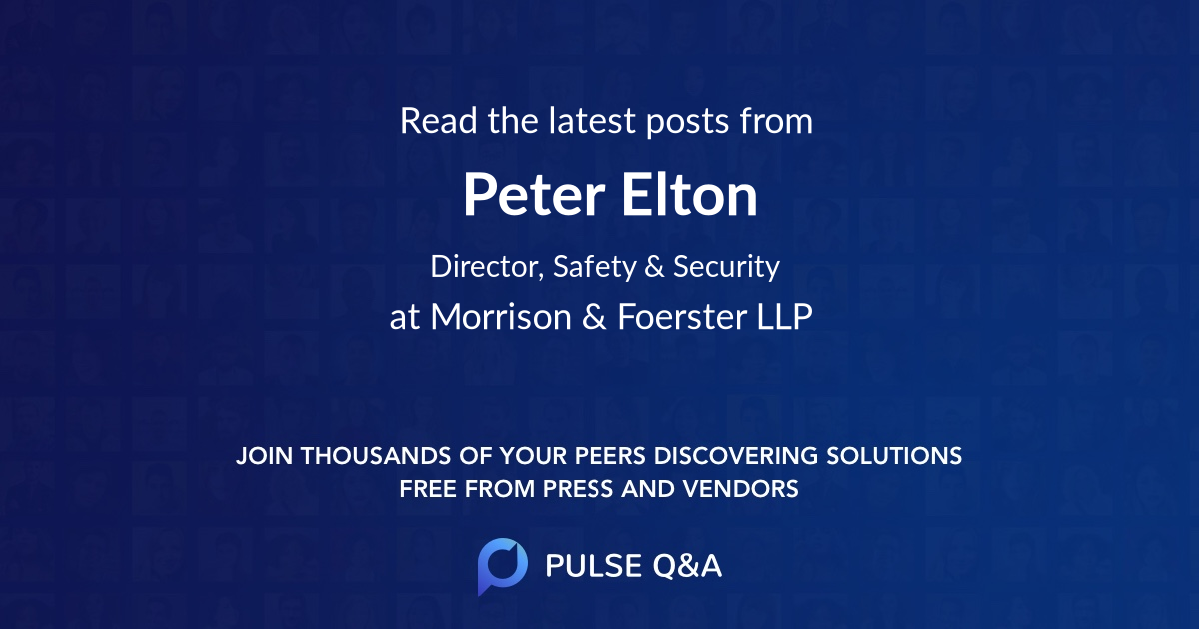 Peter Elton