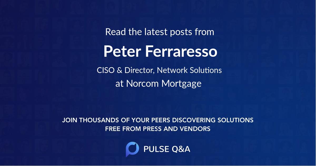 Peter Ferraresso