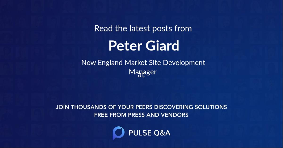 Peter Giard