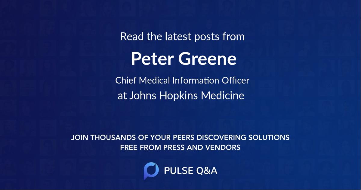Peter Greene