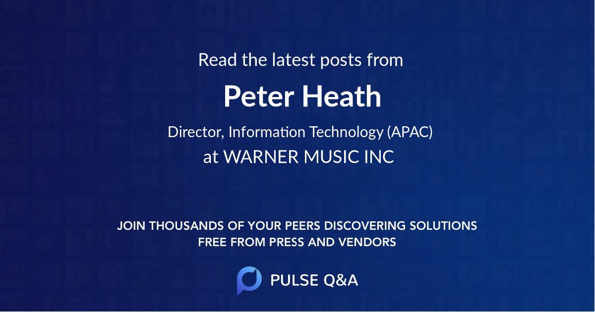 Peter Heath