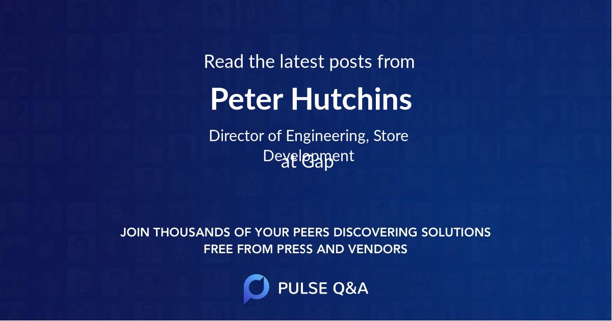 Peter Hutchins