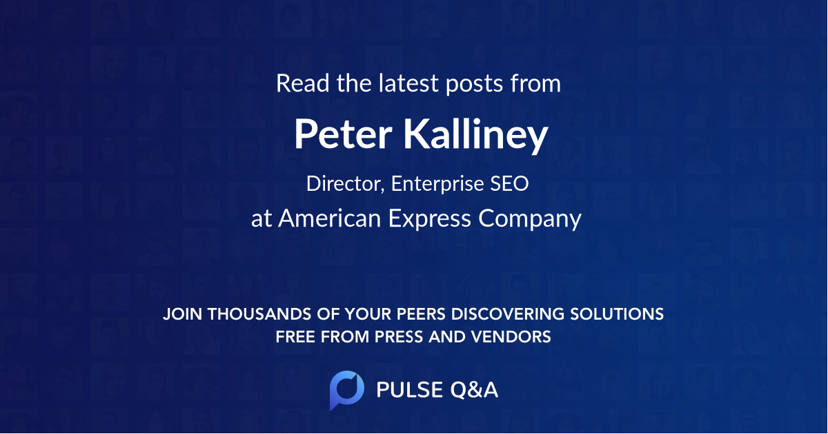 Peter Kalliney