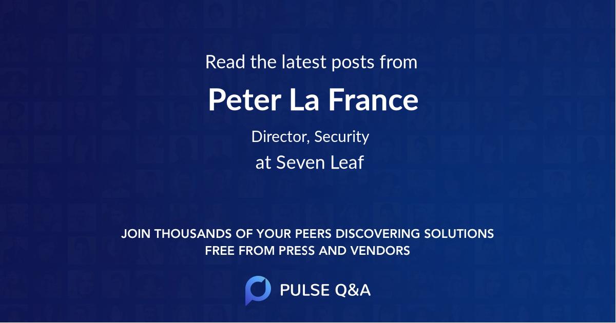 Peter La France