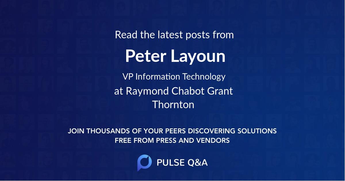 Peter Layoun