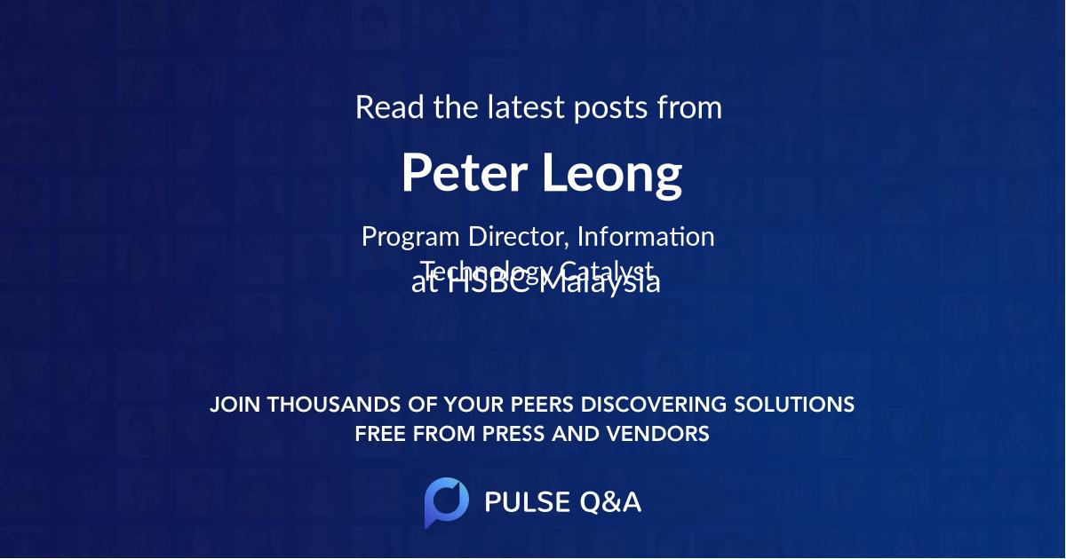 Peter Leong