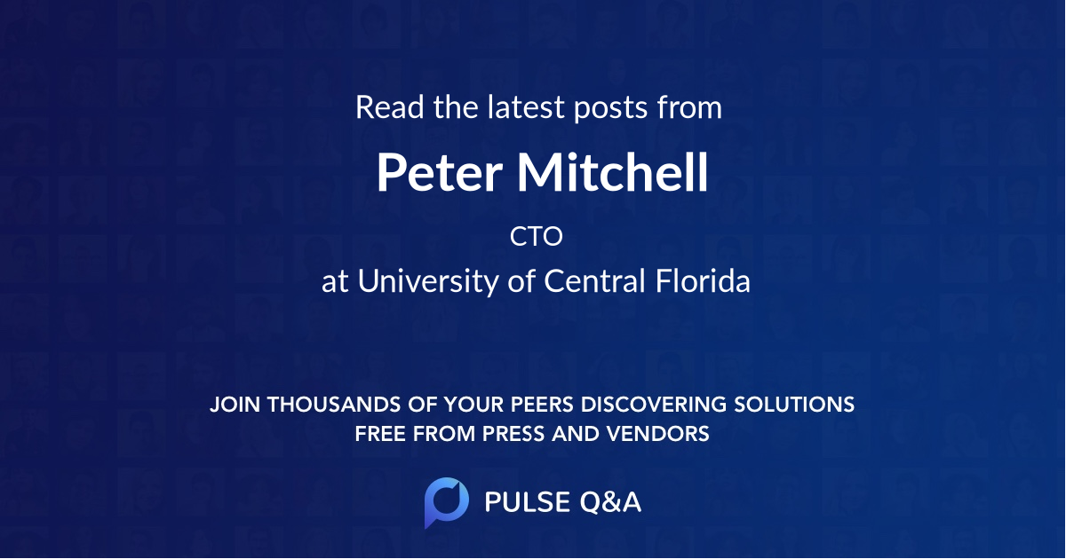 Peter Mitchell