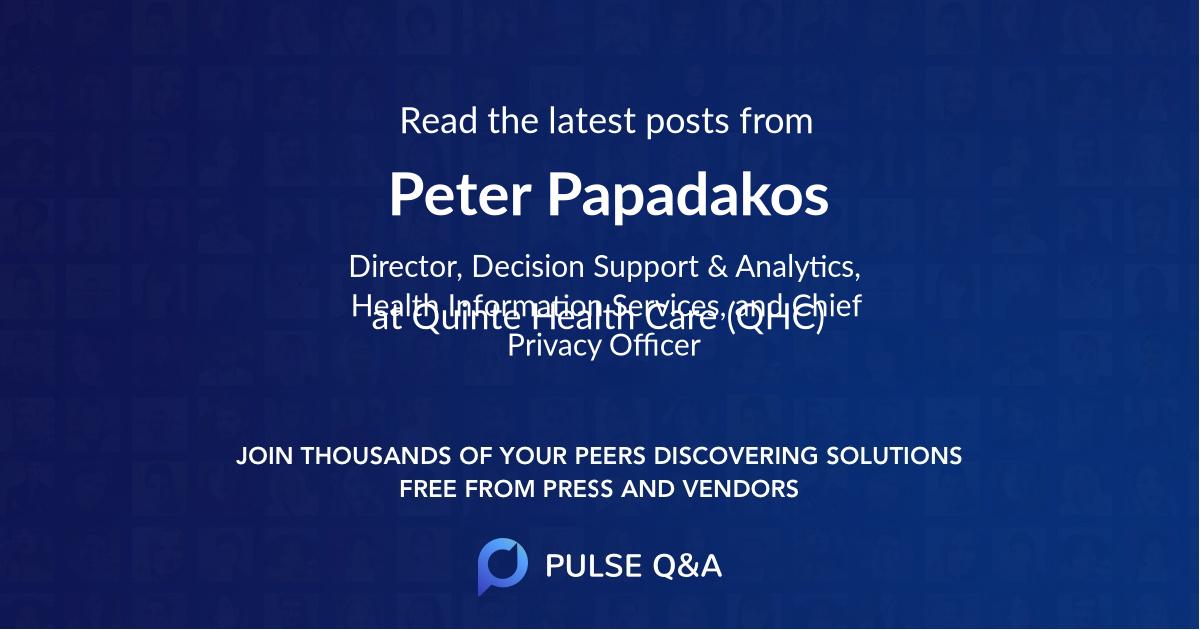 Peter Papadakos
