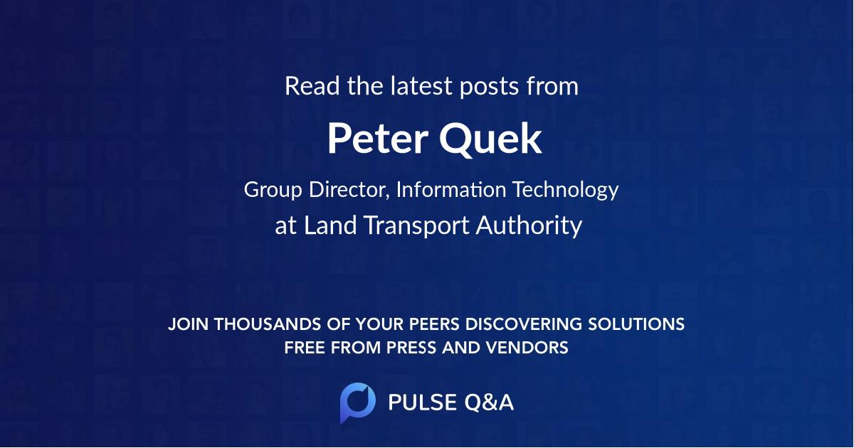 Peter Quek