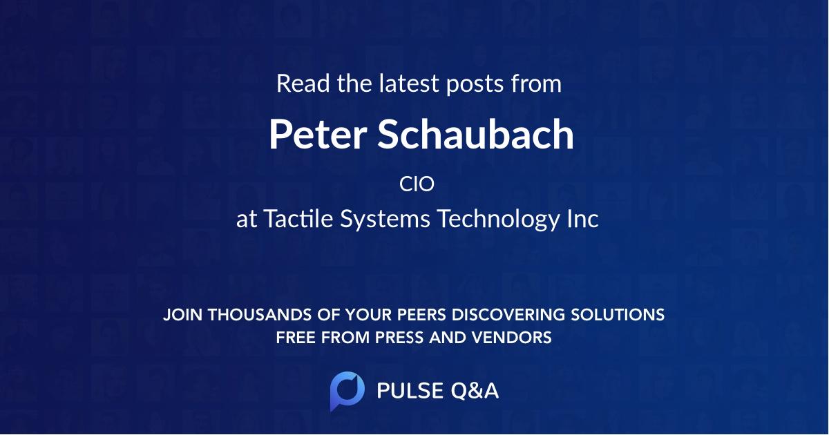 Peter Schaubach